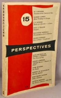 image of Perspectives, 15, Number Fifteen; Spring 1956.
