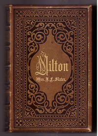 The Poetical Works of John Milton: With a Memoir and Critical Remarks on His Genius and Writing By James Montgomery (2 Volumes in one full leather binding) by John Milton (1608-1674) - ca. 1863