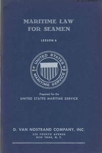 Maritime Law for Seamen: Lesson 6