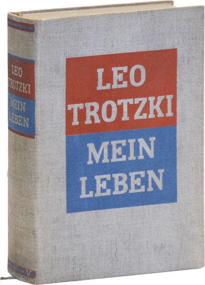 Berlin: S. Fischer, 1930. Erste bis fünfzehnte auflage. Octavo (22cm); original tan linen boards, l...