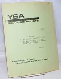 YSA Discussion Bulletin. Vol. 10, no. 9 (March 1967)