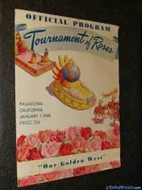 OFFICIAL PROGRAM, TOURNAMENT OF ROSES Pasadena, California, January 1, 1948