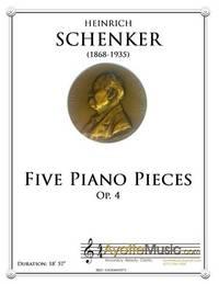 Five Piano Pieces, op. 4