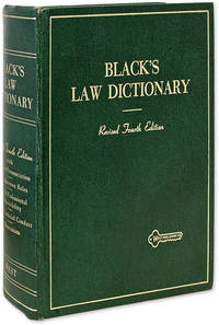 Black's Law Dictionary: Definitions... Revised 4th Edition, 1968