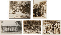 [COLLECTION OF LETTERS AND PHOTOGRAPHS FROM JOHN KENT BLANCHE, A JUDGE ADVOCATE SERVING IN HAWAII, ATTU, AND KWAJALEIN, SENT BACK HOME TO HIS WIFE AND SON IN CALIFORNIA, AND REPORTING ON ARMY LIFE IN HAWAII AND SOUTH SEA BATTLES DURING WORLD WAR II]