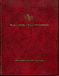 Machining Data Handbook - 2nd Edition