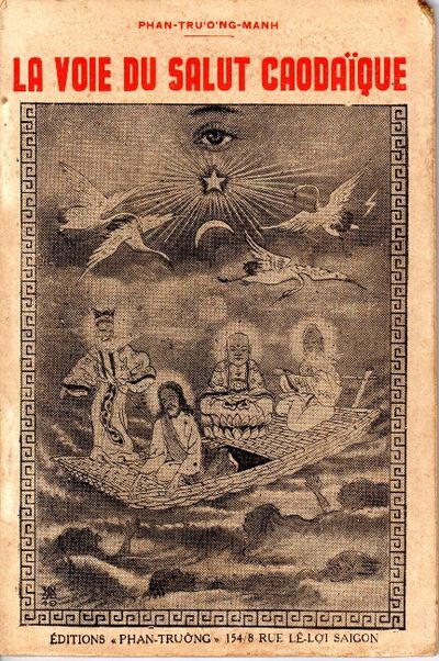 Saigon: Imprimerie Ly-Cong-Quan, 1950. 8vo, pp. 108; facsimiles; original white pictorial wrappers (...