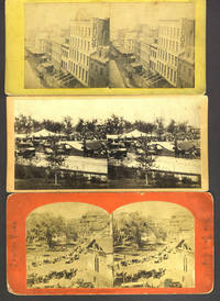 image of New York City stereoview cards, a collection dating pre-1880 and 1900-1924