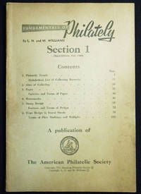 image of Fundamentals of Philately: Section 1