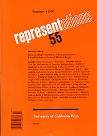 Representations 55: Special Issue on Race and Representation: Affirmative Action
