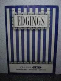 Edgings  Clark's Mercerized Crochet Cotton