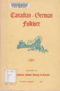 Canadian-German Folklore, Vol 1