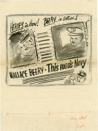 image of This Man's Navy (Archive of concept art sketches for advertisements promoting the film's original release)