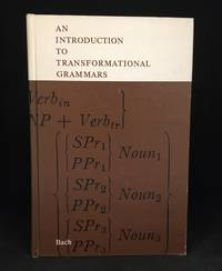 image of An Introduction to Transformational Grammars