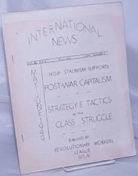 image of International News: Vol. XI no. 2 (May-June 1949)