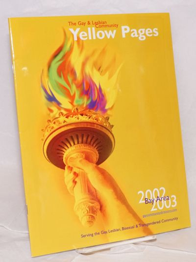 San Francisco: Community Yellow Pages, 2002. Magazine. 56p., 8x10.25 inches, phone listings, service...