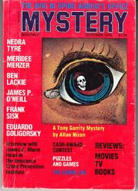 Mystery Monthly Magazine 0ctober 1976