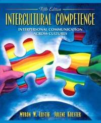 Intercultural Competence: Interpersonal Communication Across Cultures (5th Edition) by Myron W. Lustig - 2005-02-08 - from Books Express and Biblio.com