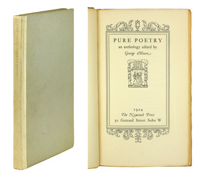 The Nonesuch Press, 1924. 8vo, xi, 128 pp. Title-page within quadruple rule border, decorative ornam...