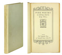 Pure Poetry, an Anthology edited by George Moore.