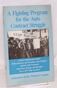 A fighting program for the auto contract struggle, statement of the Workers League, June 1990