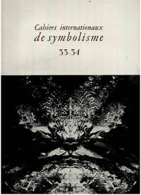 image of Cahiers internationaux de symbolisme n° 33-34