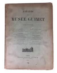 Annales du Musee Guimet. Tome Septieme