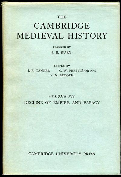 Cambridge University Press, 1958. Cloth. Near Fine/Near Fine. The 1958 re-issue of Vol. VII of The C...