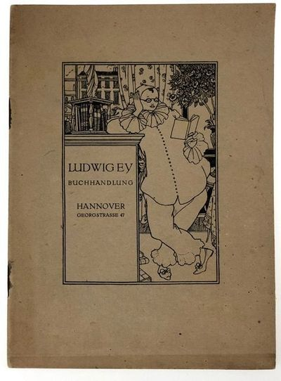 Hannover: Druck von A. Molling, 1919. First edition. First edition. Original pictorial paper covered...