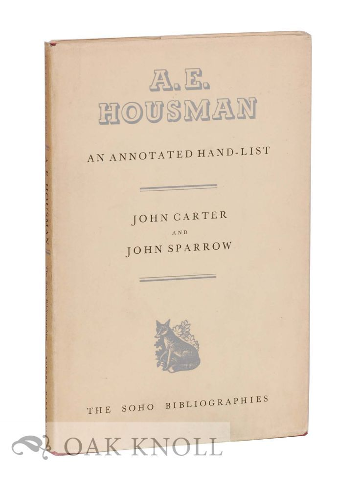 an introduction to the literature by a e housman A e housman (1859-1936) links a shropshire lad (1896) part of the bartleby archive created and maintained at columbia university.
