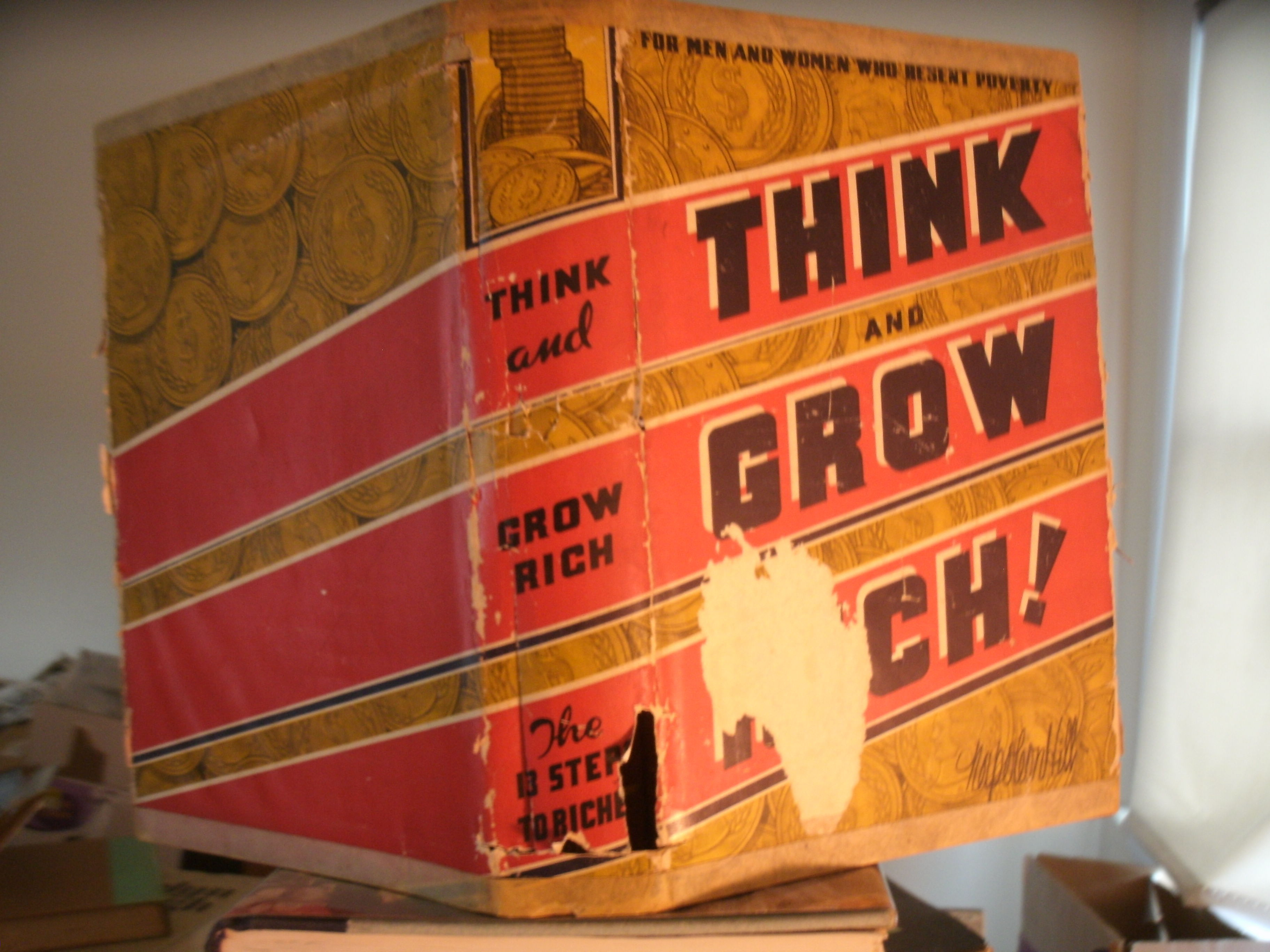think and grow rich 1937 edition pdf