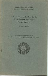 image of Historic Sites Archaeology in the Fort Randall Reservoir South Dakota