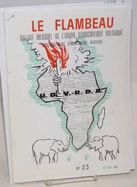 Le Flambeau: organe mensuel de l\'union démocratique voltaique (Rassemblement démocratique africain) No. 23