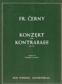 Konzert fur Kontrabassausgabe fur Kontrabass und Klavier / Concerto for Bass arranded for Bass and Piano, op. 20