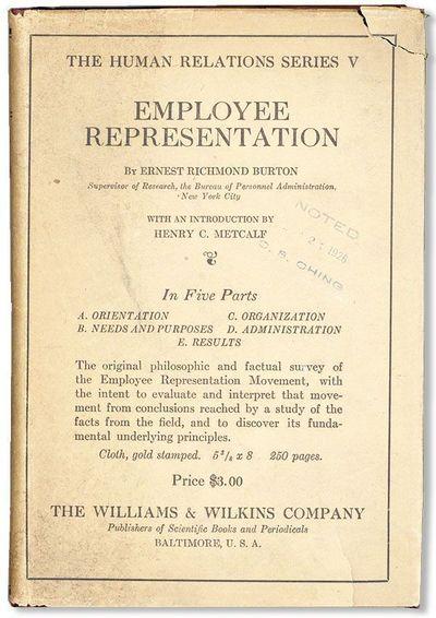 Baltimore: Williams & Wilkins Company, 1926. First Edition. Octavo (20.75cm.); original cloth in bro...