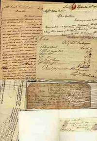 1798 NOTE AND LOT OF OTHER MAINLY 1820-40 ITEMS