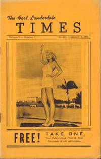 image of The Fort Lauderdale Times. Volume 2, Number 1. Saturday, January 6, 1951.
