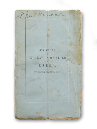 Boston: Published by White & Potter, 1847. First edition.. Old vertical crease; stained and somewhat...