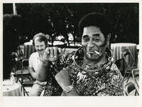 Original photograph of Dizzy Gillespie, circa 1975