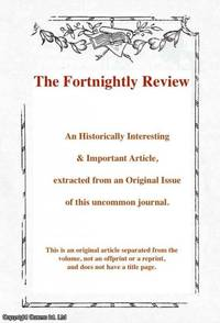 Marriage and Free Thought. An argument in favour of divorce. A rare original article from the...
