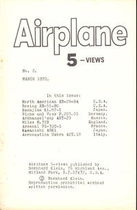 Airplane 5 Views Number Two March, 1970