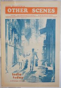 image of Other Scenes: the International Newspaper third battling year, #2, Feb. 1969: India Today and Eldridge Cleaver Wanted Poster