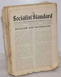 image of The Socialist Standard The Official Organ of the Socialist Party of Great Britain
