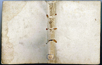 AN EXCEPTIONAL COPY ENTIRELY UNOPENED 4to (220x158 mm). , 123, leaves. Collation: +4 A-Z4 Aa-Hh4. Le...