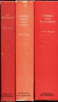 Australia in the War of 1939-1945 : Series 1 Army : Volumes I, II, III, IV, V, VI,VII (To Benghazi - Greece, Crete and Syria - Tobruk and El Alamein, The Japanese Thrust, South-West Pacific Area First Year - The New Gunea Offensives - The Final Campaigns