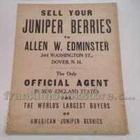Juniper Berries 1930 Poster