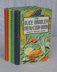 The Alice Bradley Menu-Cook-Book. Menus, Marketing Lists and Recipes. [Four volumes] January-February-March, April-May-June, July-August-September, October-November-December