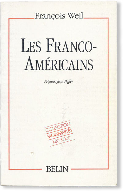 : Belin, 1989. First Edition. Octavo. Printed card wrappers; 251,(2)pp; illus. Eight inserted leaves...