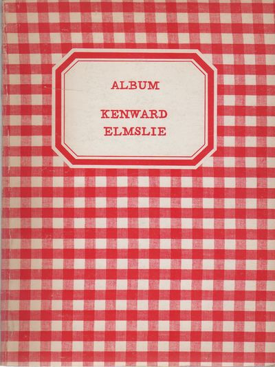 New York: Kulchur Press, (1969). First Edition. Wraps. Very good. 4to. Publisher's gingham wraps. So...