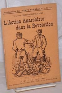 image of L'Action Anarchiste dans la Révolution